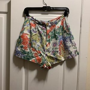 Size Medium Urban Outfitters Floral Shorts